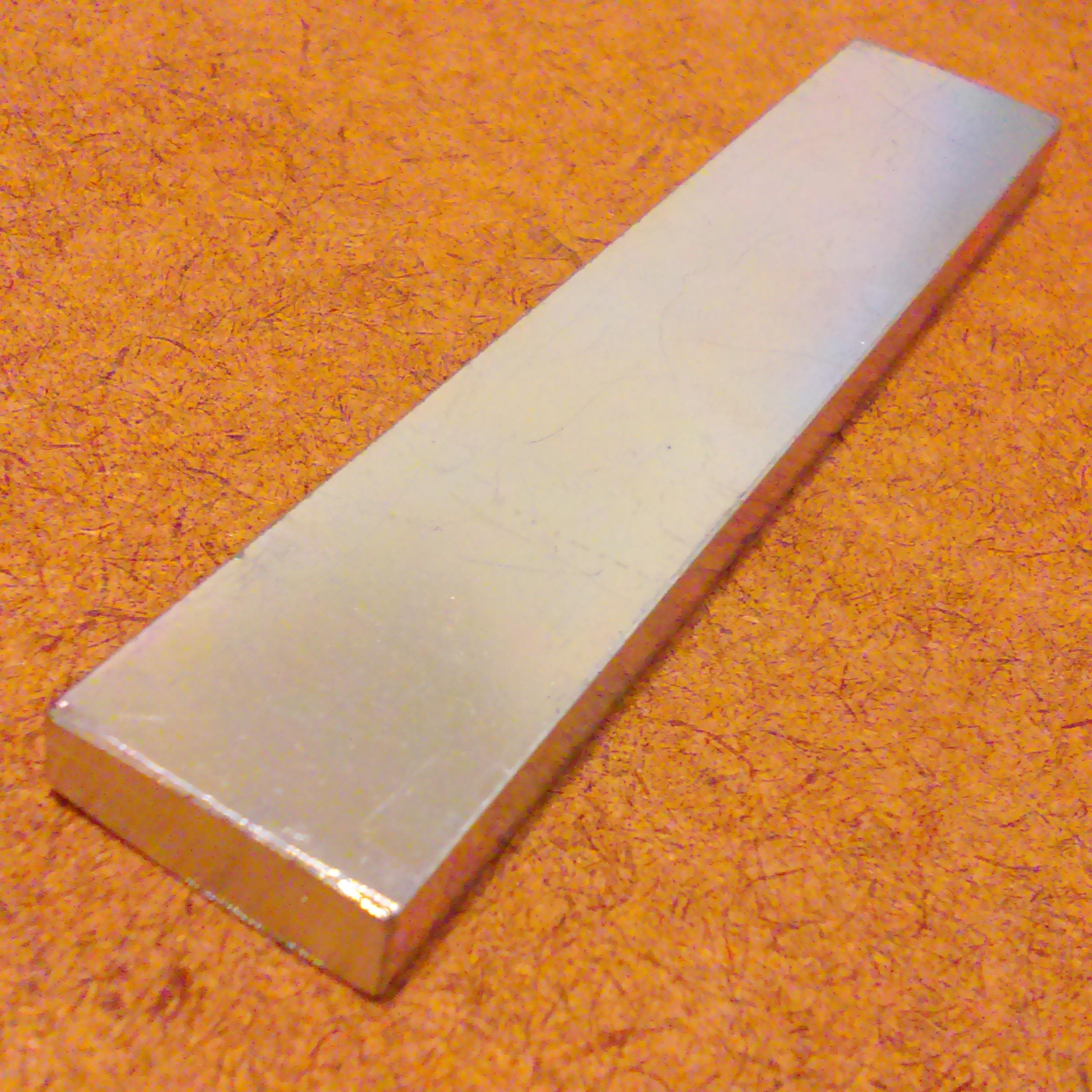 Soft Iron Rectangular Bar Rod 3 875x 0 75 X 0 25 Moneks Technologies