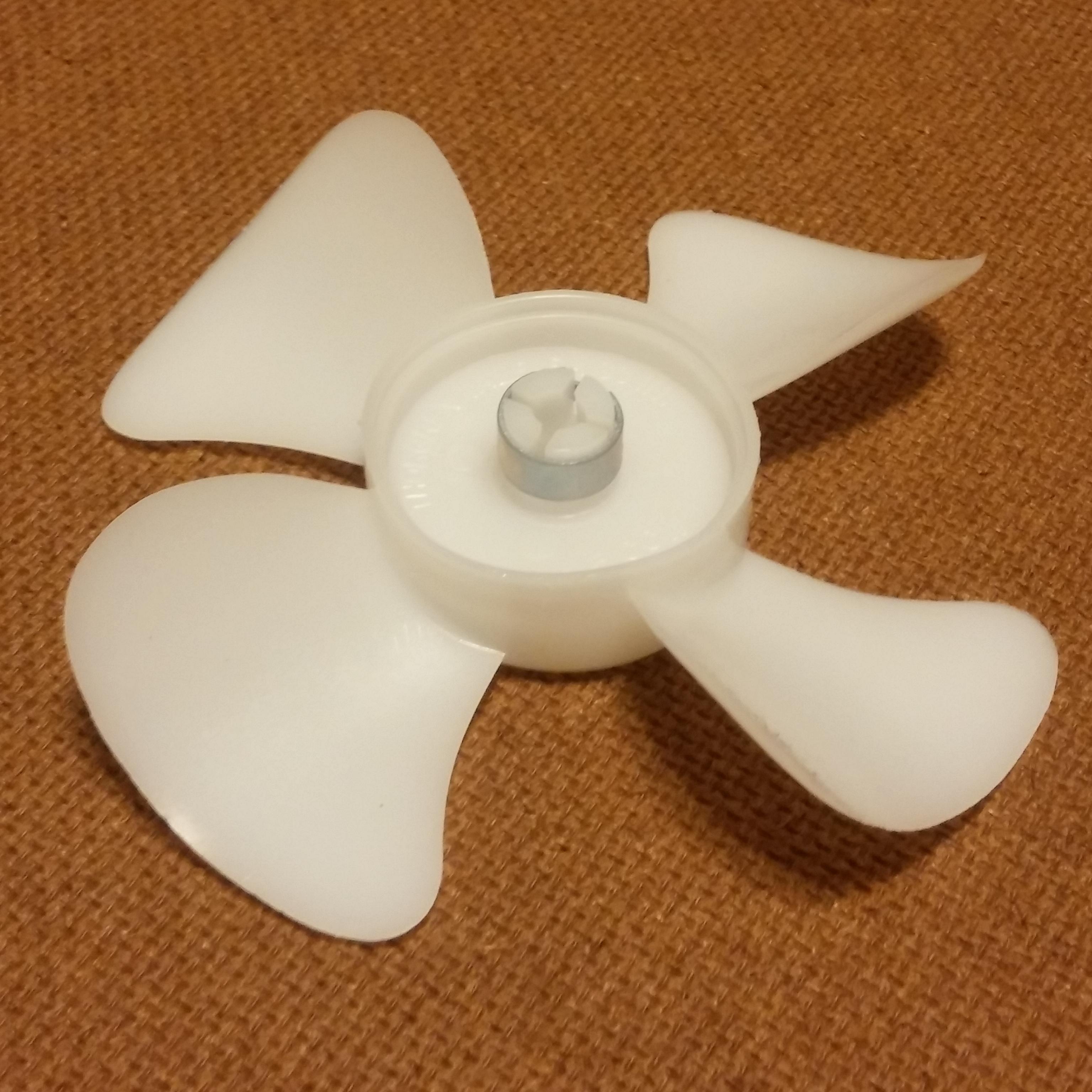 3 1 2 Plastic Fan Blade Propeller Hvac Refrigeration Cooling